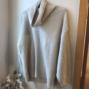 Topshop Oversize Knit Sweater